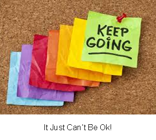 It Just Can�t Be Ok!