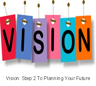 Vision: Step 2 To Planning Your Future