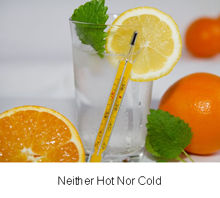 Neither Hot Nor Cold