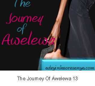 The Journey Of Awelewa 13