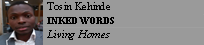 Tosin Kehinde INKED WORDS Living Homes